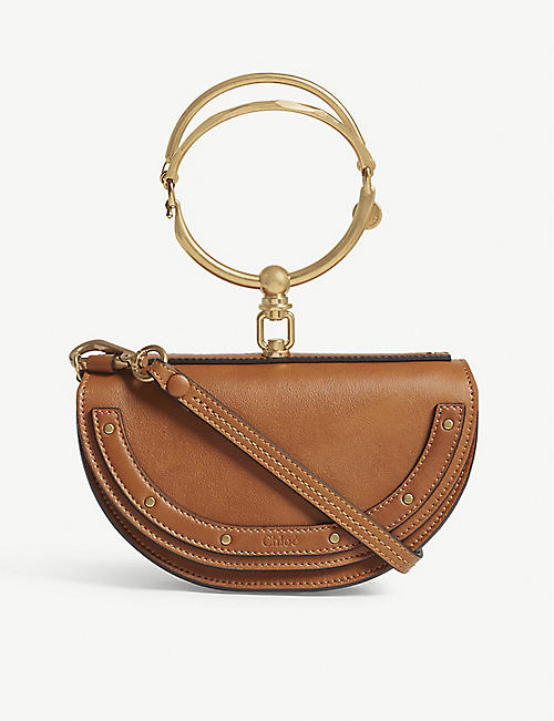 CHLOE Nile extra-small leather shoulder bag
