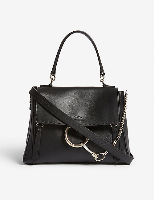10967a625d33c CHLOE Faye Day small grained leather shoulder bag