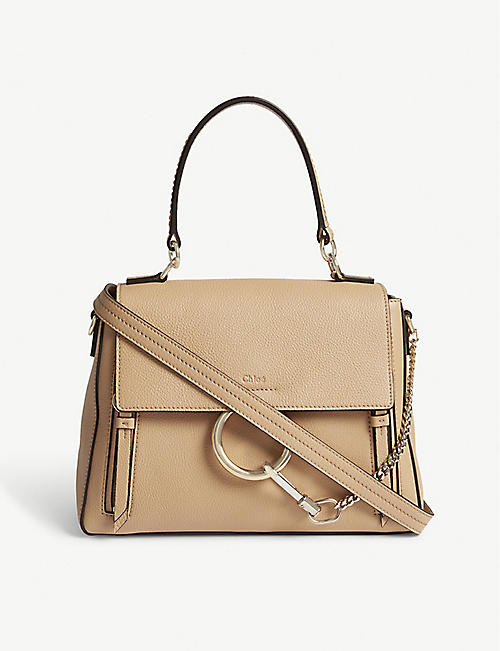 CHLOE Faye Day small grained leather shoulder bag 2d74903a2c79