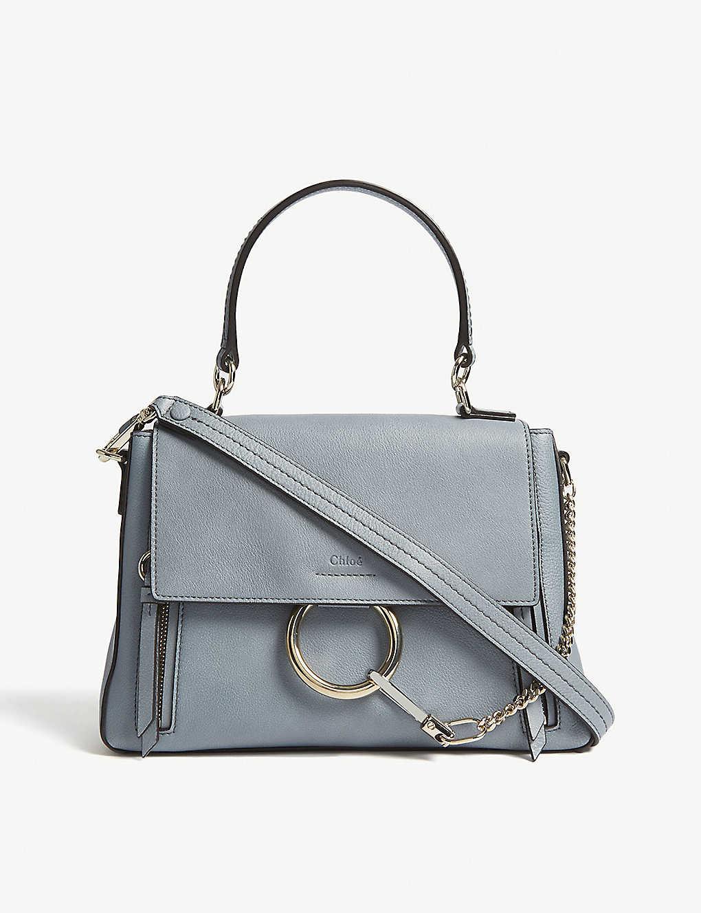 19ce81636 CHLOE - Small Faye Day leather shoulder bag   Selfridges.com