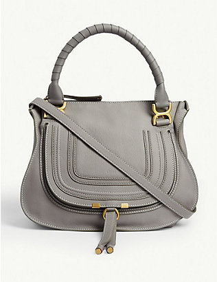 CHLOE: Marcie medium leather cross-body bag