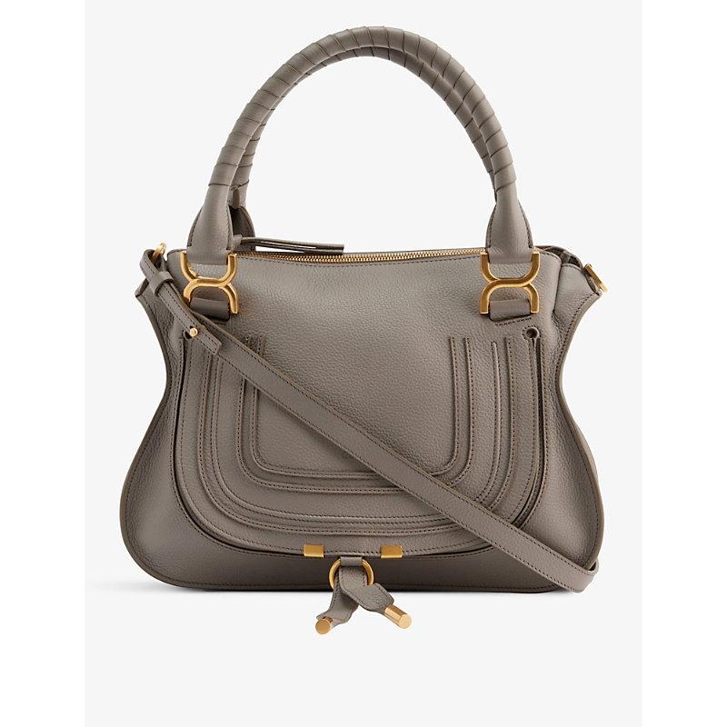 Marcie medium leather cross-body bag