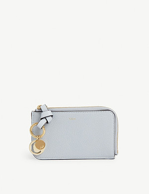 CHLOE Alphabet leather wallet