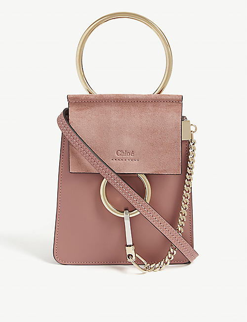 CHLOE Faye Bracelet leather shoulder bag