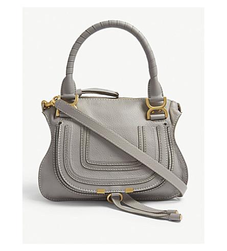 ... CHLOE Marcie medium leather cross-body bag (Cashmere+grey. PreviousNext 6d4241ef4a032