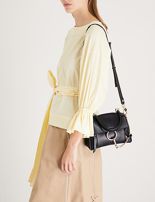 CHLOE Faye Day mini leather shoulder bag