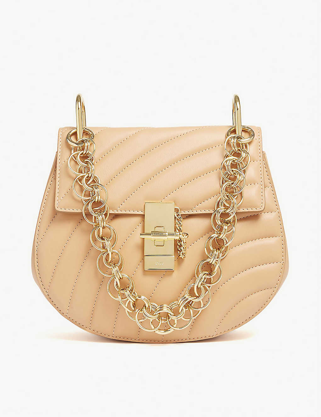 547bcc16302 CHLOE - Drew Bijou small quilted leather shoulder bag | Selfridges.com