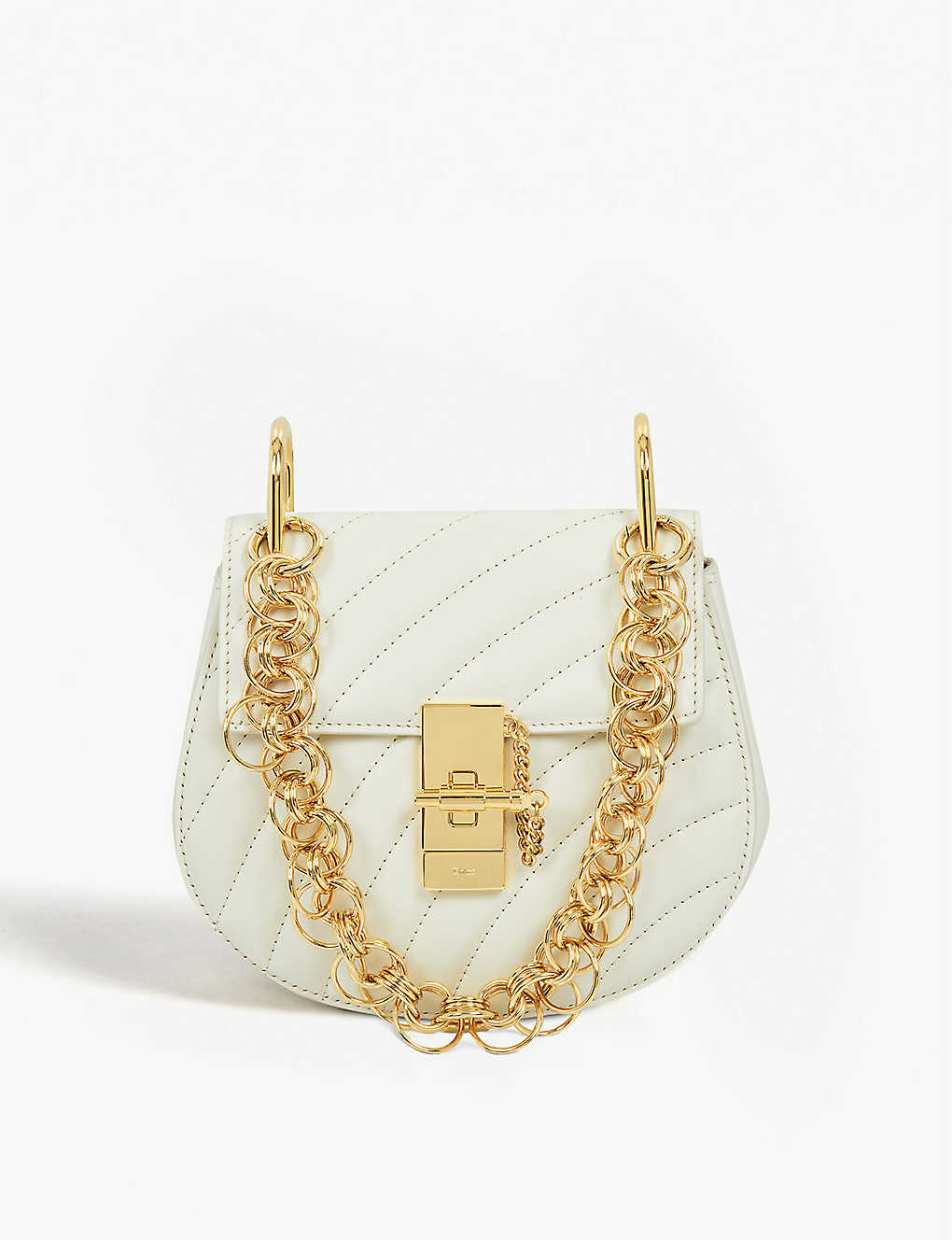 ed71644c04 CHLOE - Drew Bijou nano leather shoulder bag | Selfridges.com