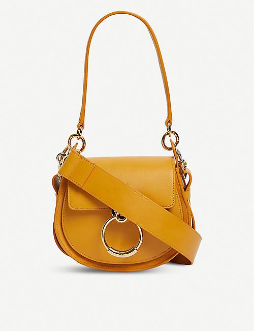 55755b71400eb CHLOE Tess leather shoulder bag