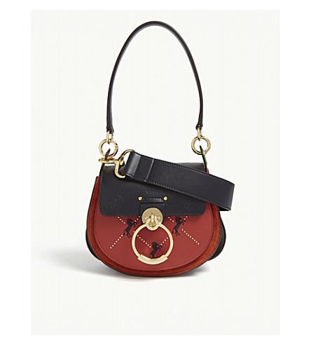 23f4fd827631 CHLOE Tess shoulder bag (Earthy+red