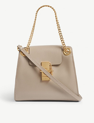 CHLOE Mini Annie leather shoulder bag