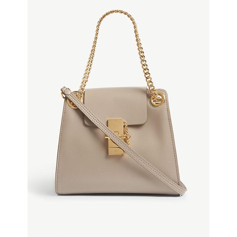 CHLOÉ | Mini Annie Leather Shoulder Bag | Goxip