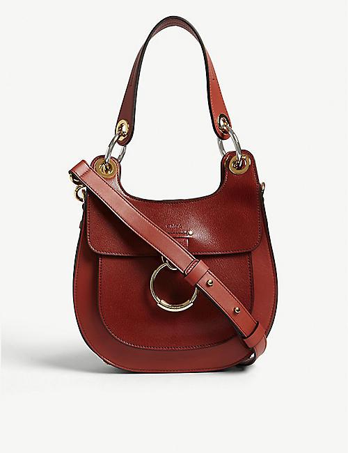 6affcea395 CHLOE Tess small leather shoulder bag