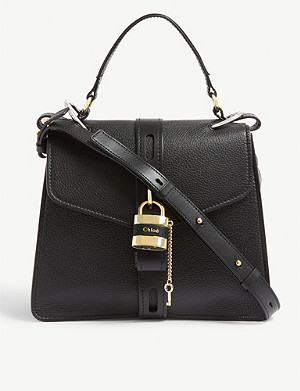 CHLOE Aby medium leather cross-body bag