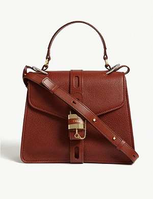 CHLOE Aby medium leather satchel