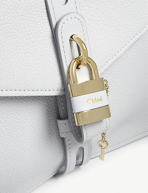 CHLOE Aby medium leather satchel bag