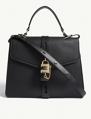 CHLOE Aby large leather satchel bag