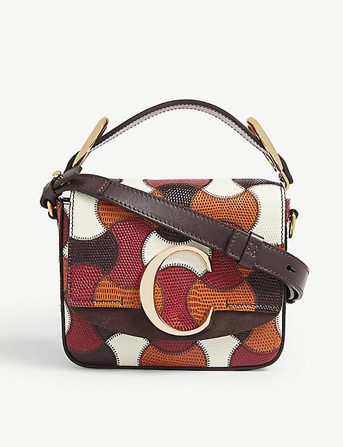 5052f3114 CHLOE Toaster mini patchwork leather cross-body bag
