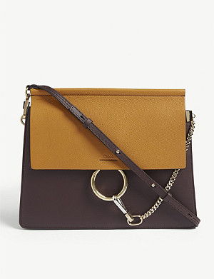 CHLOE Faye leather satchel
