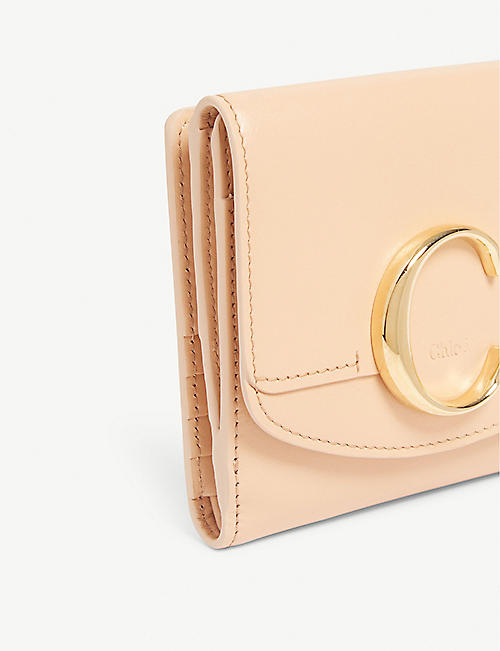 CHLOE Small square leather wallet