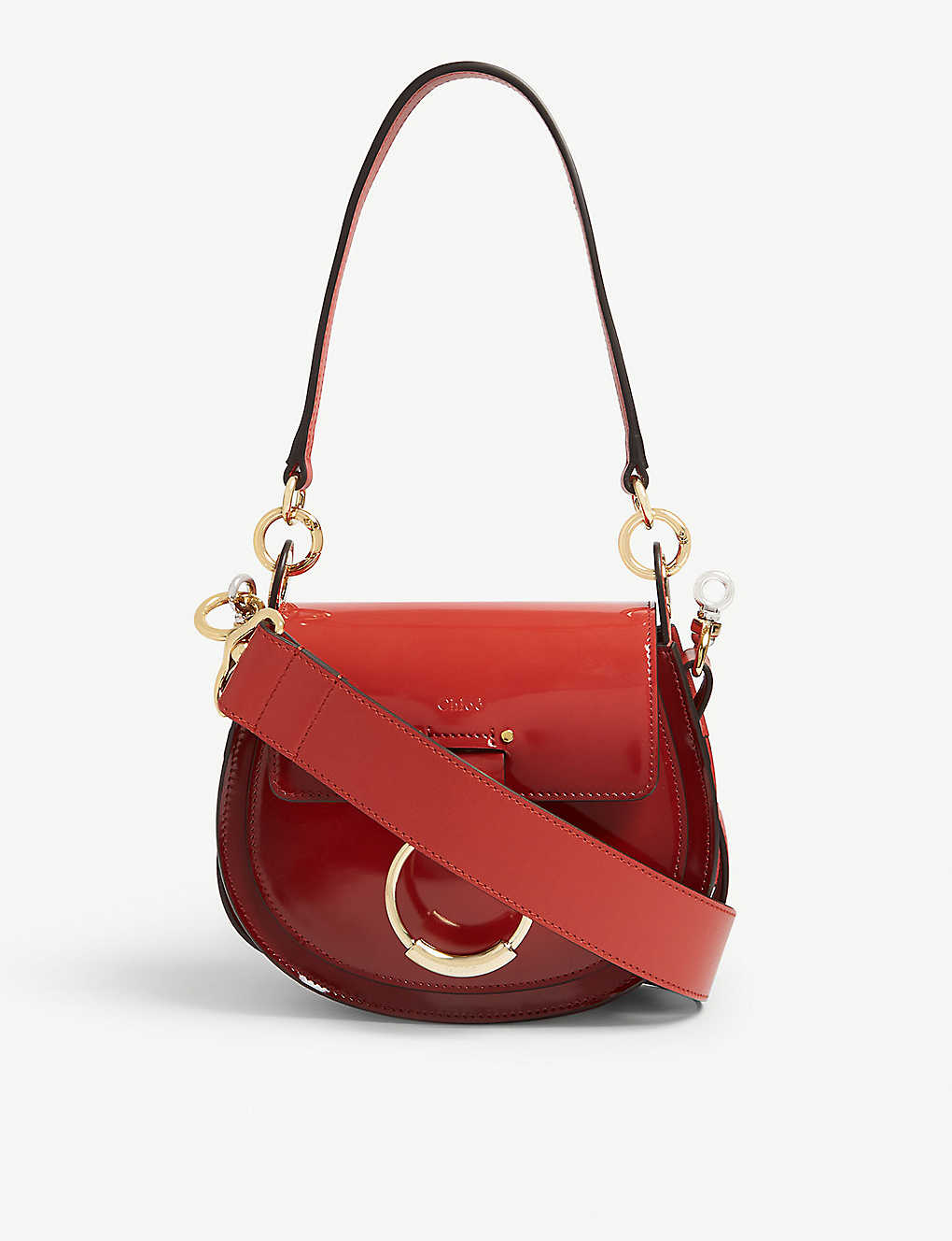 41c4fbfaee CHLOE - Tess small patent leather cross-body bag | Selfridges.com