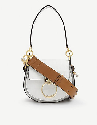CHLOE: Tess small leather cross-body bag