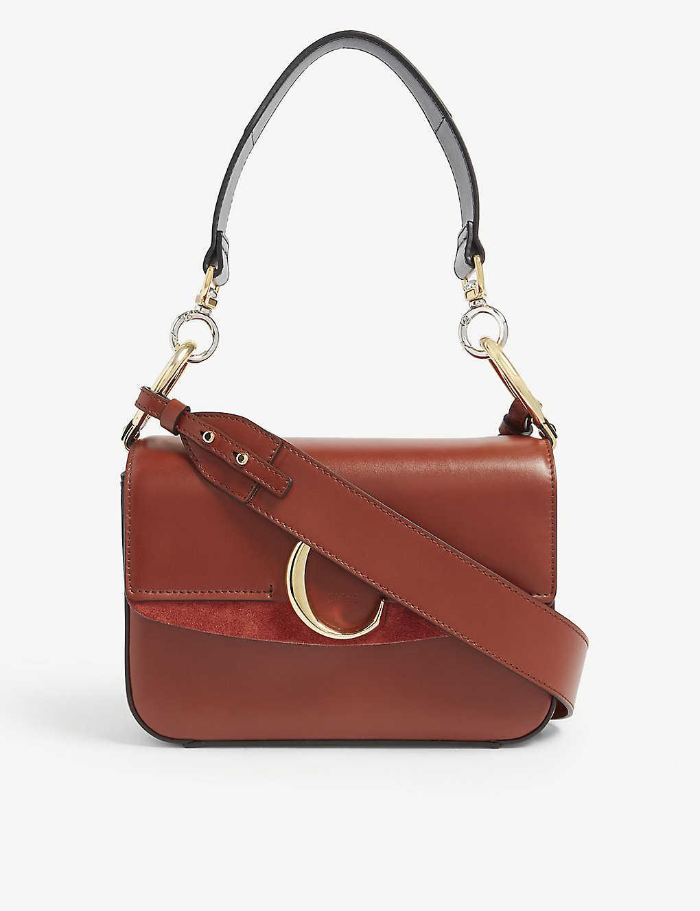 178dfee803 CHLOE - C small leather shoulder bag | Selfridges.com