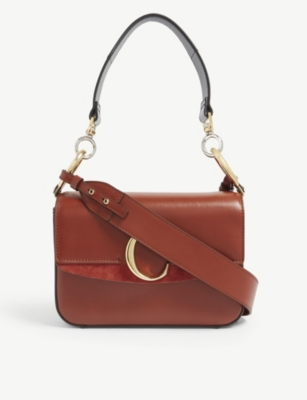 CHLOE C small leather shoulder bag