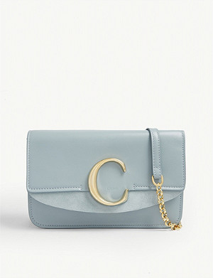 CHLOE C leather shoulder bag