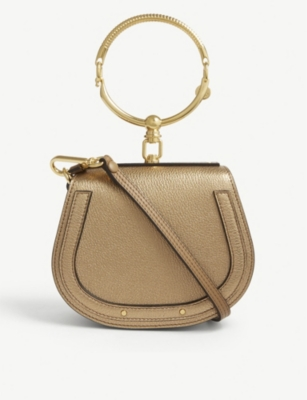 CHLOE Nile metallic cross-body bag