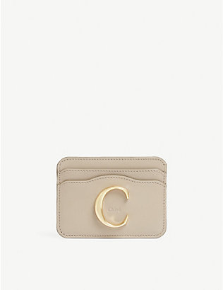CHLOE: Leather card holder