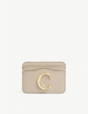 CHLOE Leather card holder
