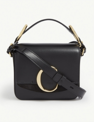 CHLOE Mini Chloé C leather shoulder bag