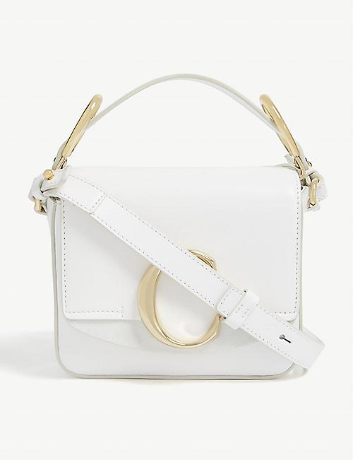 CHLOE Mini Chloé C leather shoulder bag. Quick view Wish list. SHOW  COLLECTION 258e19562538f