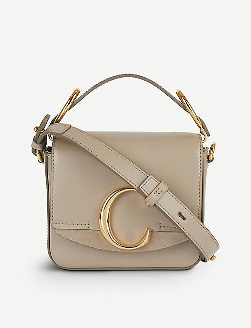 aa161f39f1a CHLOE Tess mini leather cross-body bag