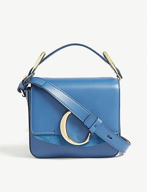 155c7c654d4 CHLOE Mini Chloé C leather shoulder bag