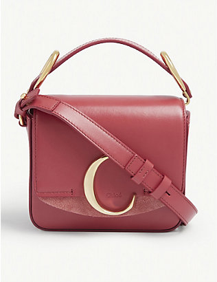 CHLOE: Toaster mini leather cross-body bag