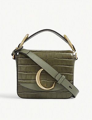 CHLOE Toaster mini leather cross-body bag