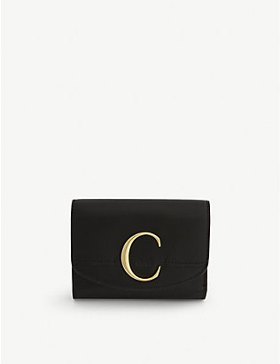 CHLOE: C leather purse