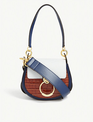 CHLOE Tess small leather cross-body bag