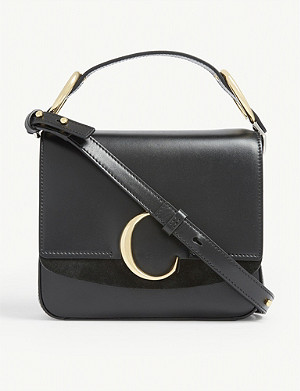 CHLOE C small square leather shoulder bag