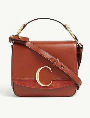 CHLOE C leather small shoulder bag