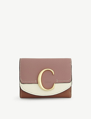 CHLOE C leather purse