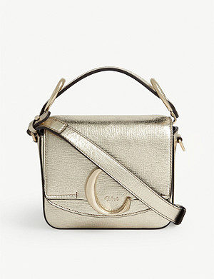CHLOE Mini metallic Toaster bag