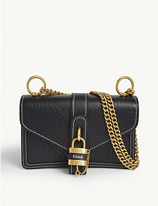 CHLOE: Aby Chain leather shoulder bag