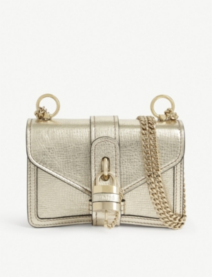 CHLOE Mini Aby shoulder bag