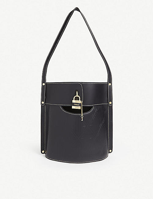 CHLOE Aby leather bucket bag