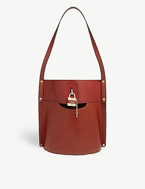 CHLOE Aby leather medium bucket bag