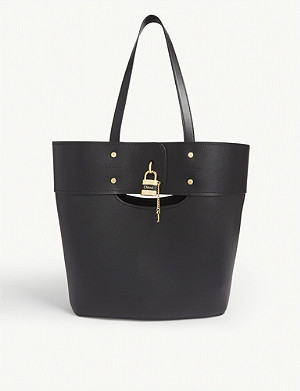 CHLOE Aby leather tote bag