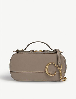 CHLOE C mini leather vanity bag
